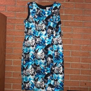 💙KASPER💙CABANA MULTI FLORAL SHEATH DRESS💙